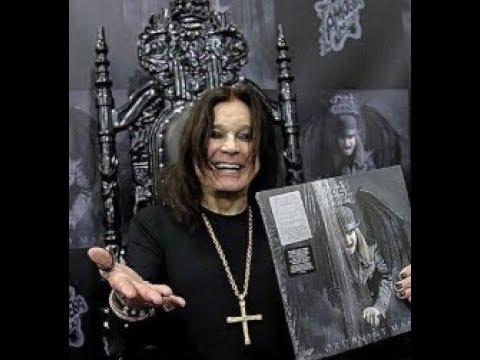 Ozzy Osbourne in store signing recap videos posted from Hollywood Amoeba records!
