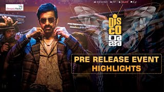 Disco Raja Pre Release Event Highlights | Ravi Teja | Nabha Natesh | Payal Rajput | Shreyas Media