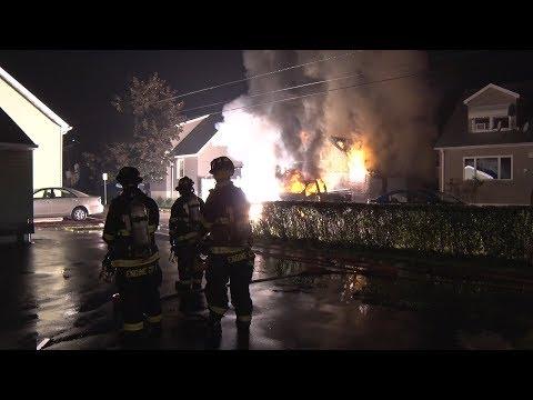 PHOTOS/VIDEO: Downed Tree Ignites Saddle Brook Blaze