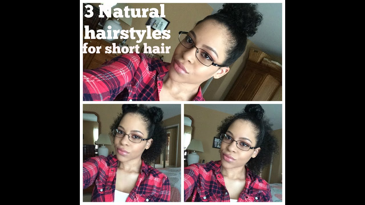 3b Short Hairstyles: 3 Natural Hairstyles For Short Curly Hair 3b/3c