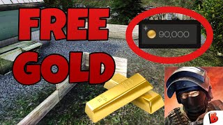 How to get free gold in bullet force - new method