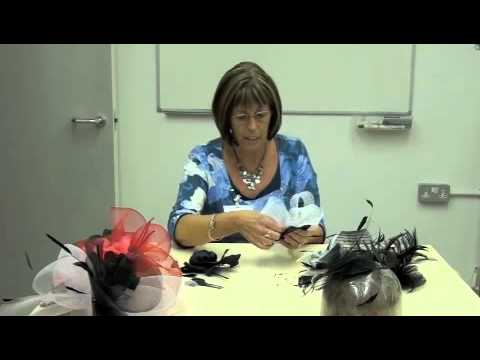 how to make a fascinator youtube. Black Bedroom Furniture Sets. Home Design Ideas