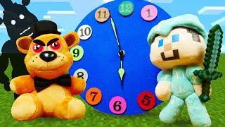 Аниматроники в Реале - Стив Майнкрафт против Фредди из ФНАФ! – Видео игры для мальчиков.