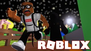 RUNNING FROM DEATH IN ROBLOX