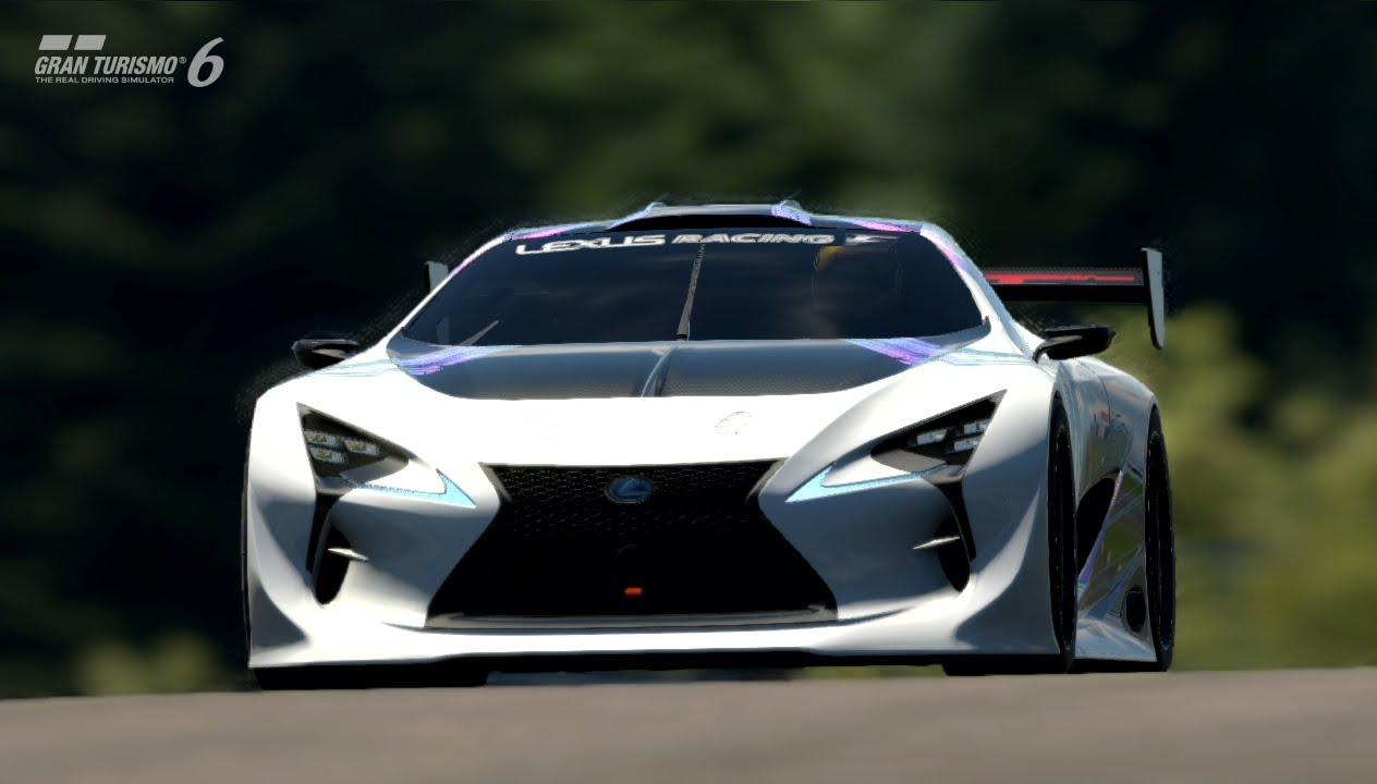 【GT6】グランツーリスモ6【60FPS】上級レーシングカーチャレンジ レクサス LF-LC GT ビジョングラン ...