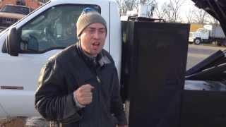 2003 Ford F550 Diesel 4x4 Chipper Dump Truck for sale