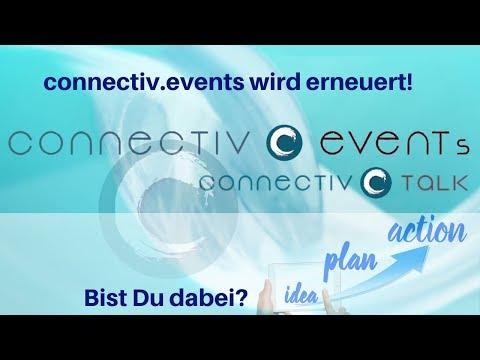 NEUSTART: connectiv.events wird erneuert! Bist Du dabei?