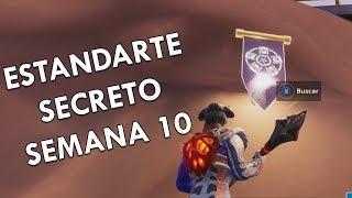 Secret Banner Week 10 (Temp 8) Fortnite