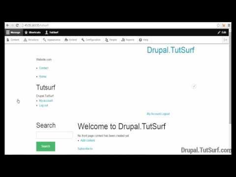 How To Install Drupal Theme -  Drupal 8 Tutorial Beginner