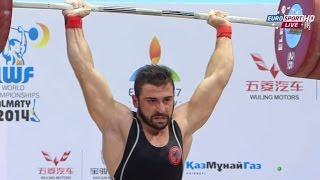 2014 World Weightlifting Championships, Men 77 kg \ Тяжелая Атлетика. Чемпионат Мира