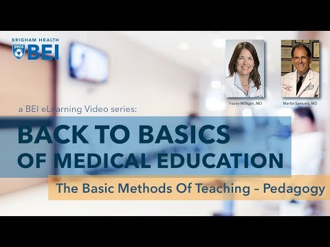 The Basic Methods of Teaching - Pedagogy