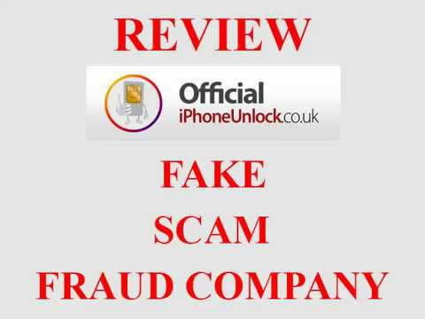 OfficialiPhoneUnlock co uk - REVIEW | FAKE, SCAM & FRAUD COMPANY
