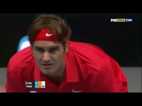 Roger Federer - Top 10 Miraculous Returns of Serve