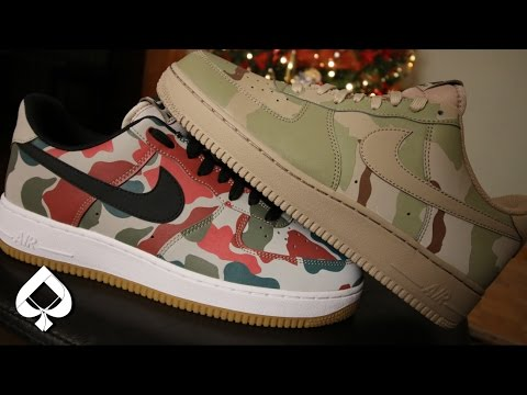 nike air force 1 herren camo