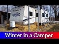 Winter Living in a camper