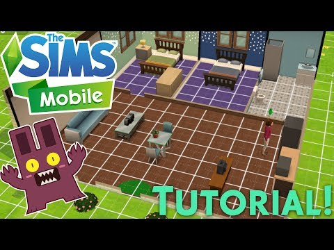 The Sims Mobile: Build/Buy Mode 🏚 | Tutorial!