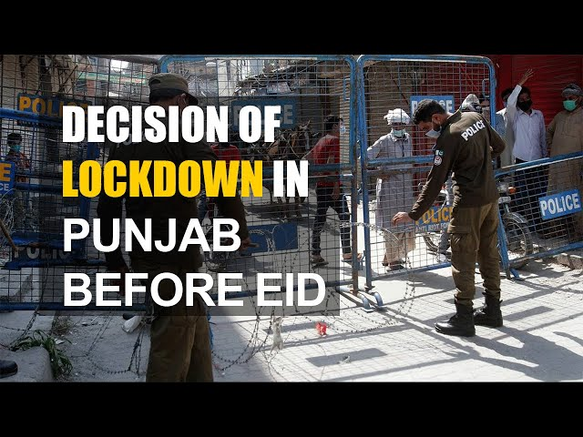 Decision of lockdown in Punjab before Eid | Daily Column | 9 News HD
