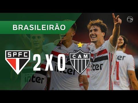 SÃO PAULO 2 X 0 ATLÉTICO-MG - GOLS - 27/10 - BRASILEIRÃO 2019