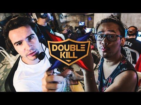 DOMINGO & LRB dans DOUBLE KILL - DEMI FINAL #1