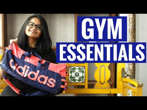 GYM MUST HAVES | What`s in My Gym Bag | Gym Essential | Workout Motivation | Indian Fitness Channel