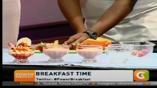 Power Breakfast: Breakfast Juices
