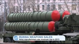 Russia Weapons Sales Booming: Arms manufacturers enjoy rise despite global sales slump