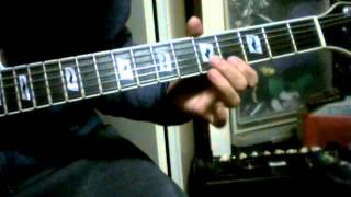 guitar demo Blondie - Union City Blue