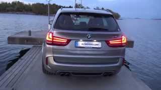 [4k] Exterior BMW X5M with foglights on