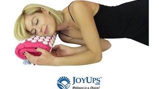 Acupressure Mat & Pillow Relieves Back Pain | JoyUps Spike Mat
