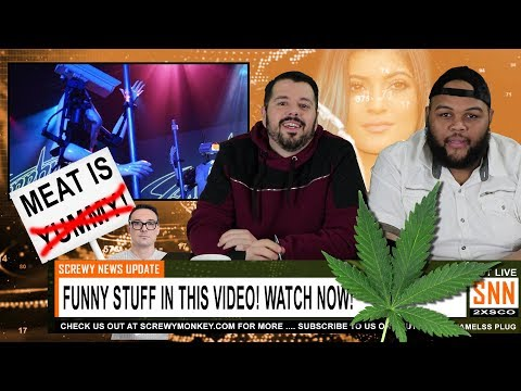 "Robot Strippers, Weed Church, Angry Vegans, and a ""Kardashian?"" - Screwy News EP. 1"