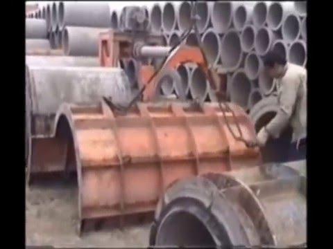 reinforced concrete pipe making machine/Buses et tuyaux béton/RCC pipe  making machine