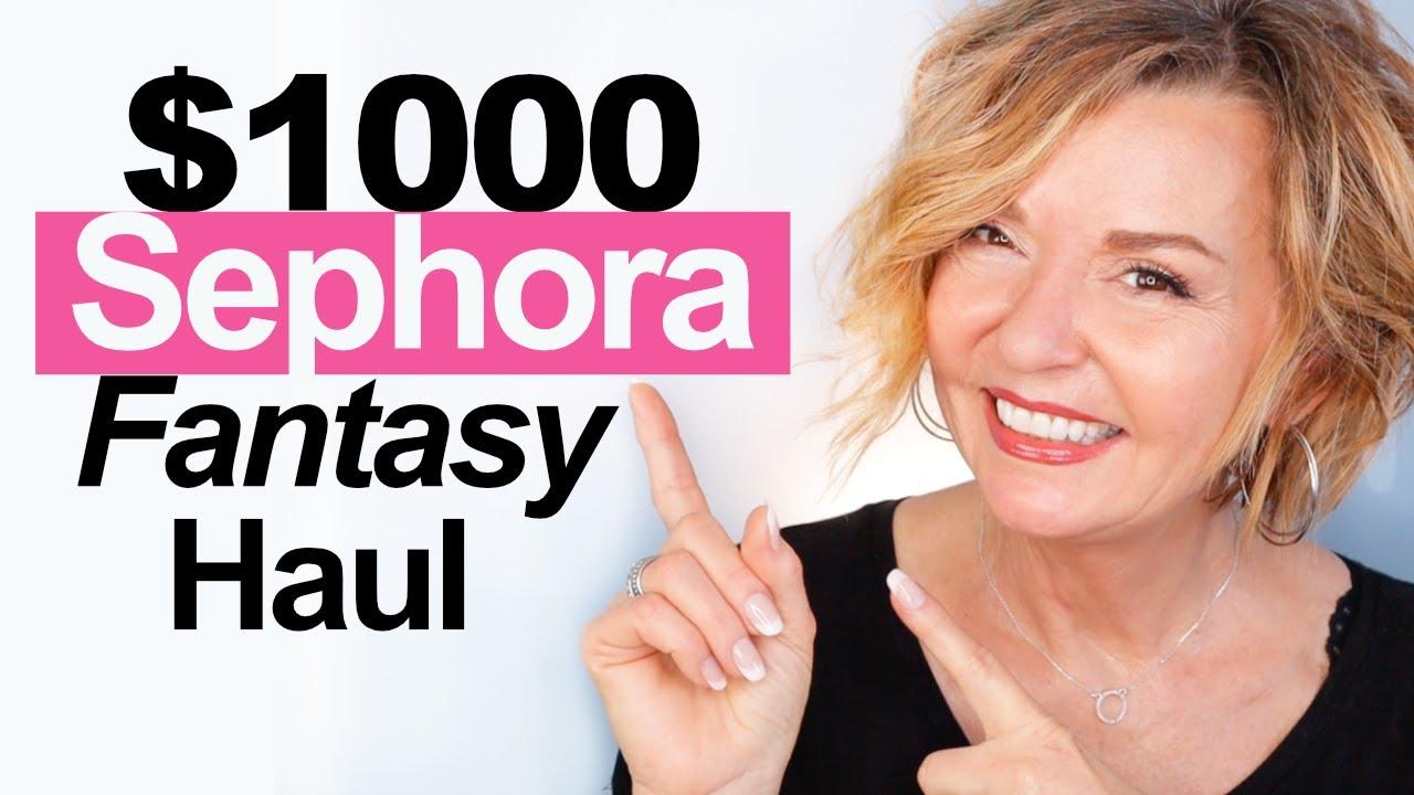 $1000 Sephora Fantasy Haul!