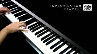 L-O-V-E | Nat King Cole | PBE Piano Improvisation Example
