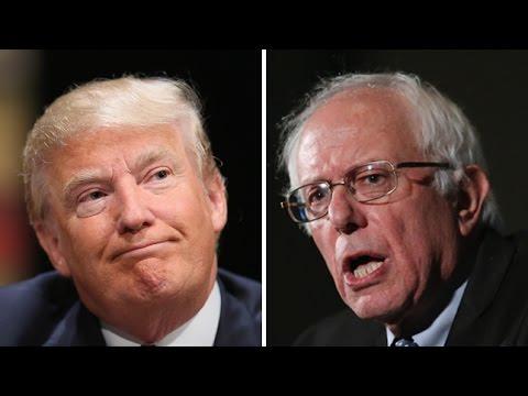 Alternate History: 2016- Donald Trump vs Bernie Sanders