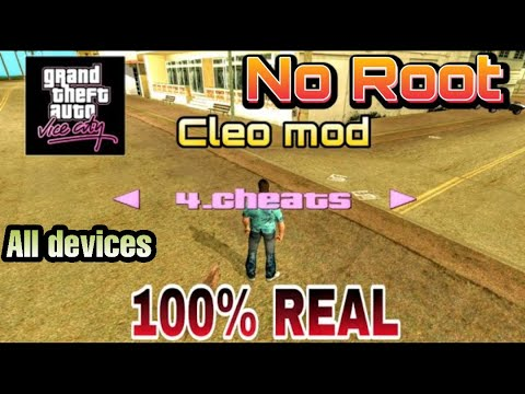 [2020] How to add CLEO MOD in GTA Vice City for ANDROID and iOS || NO ROOT || 100% REAL || GAMERHBK