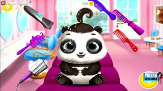 Panda Lu Baby Bear City Pet Babysitting Care / Tutotoons Games / Android Gameplay Video