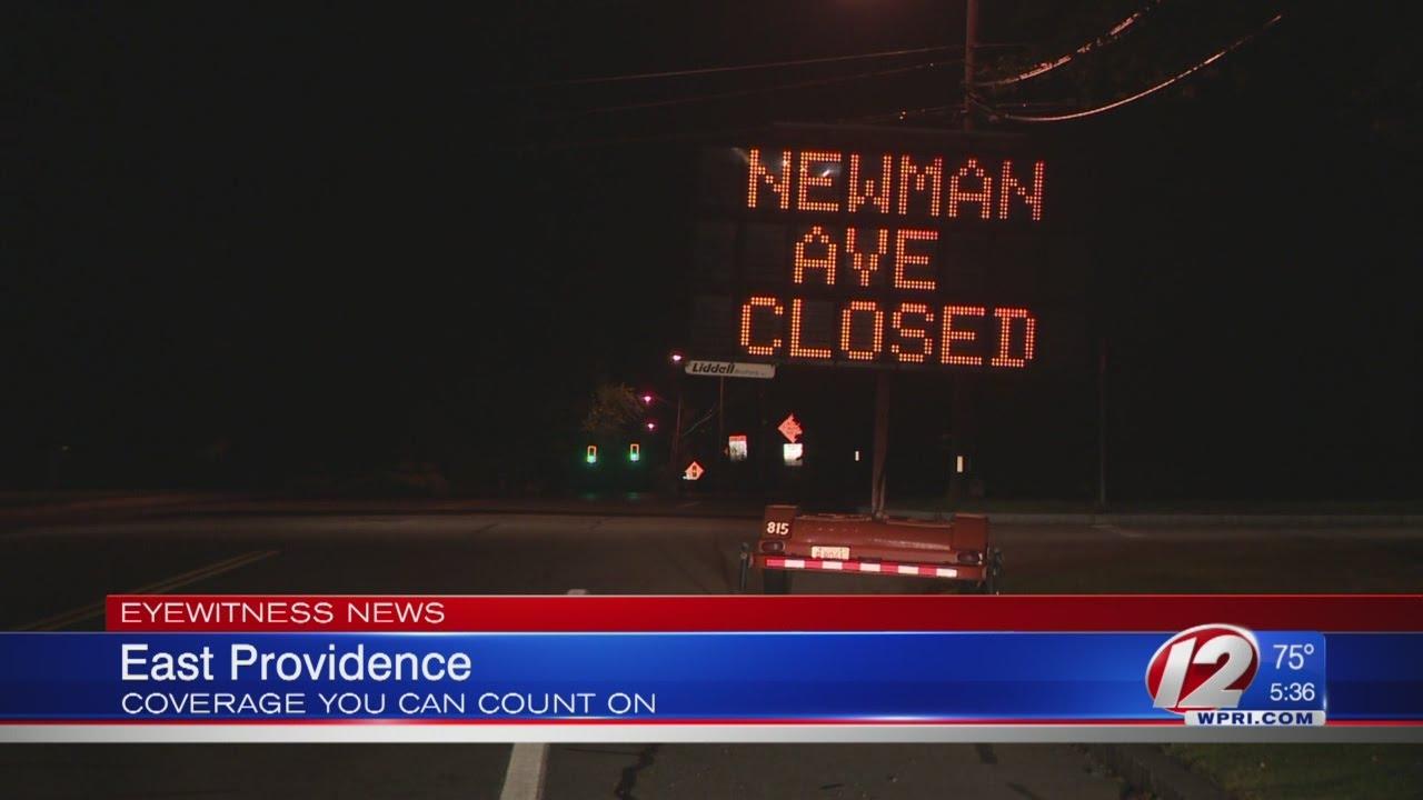 Newman Avenue bridge closed