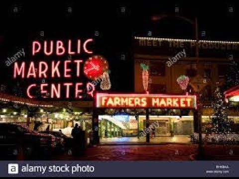 Seattle Pike Place Market | Music Food Short