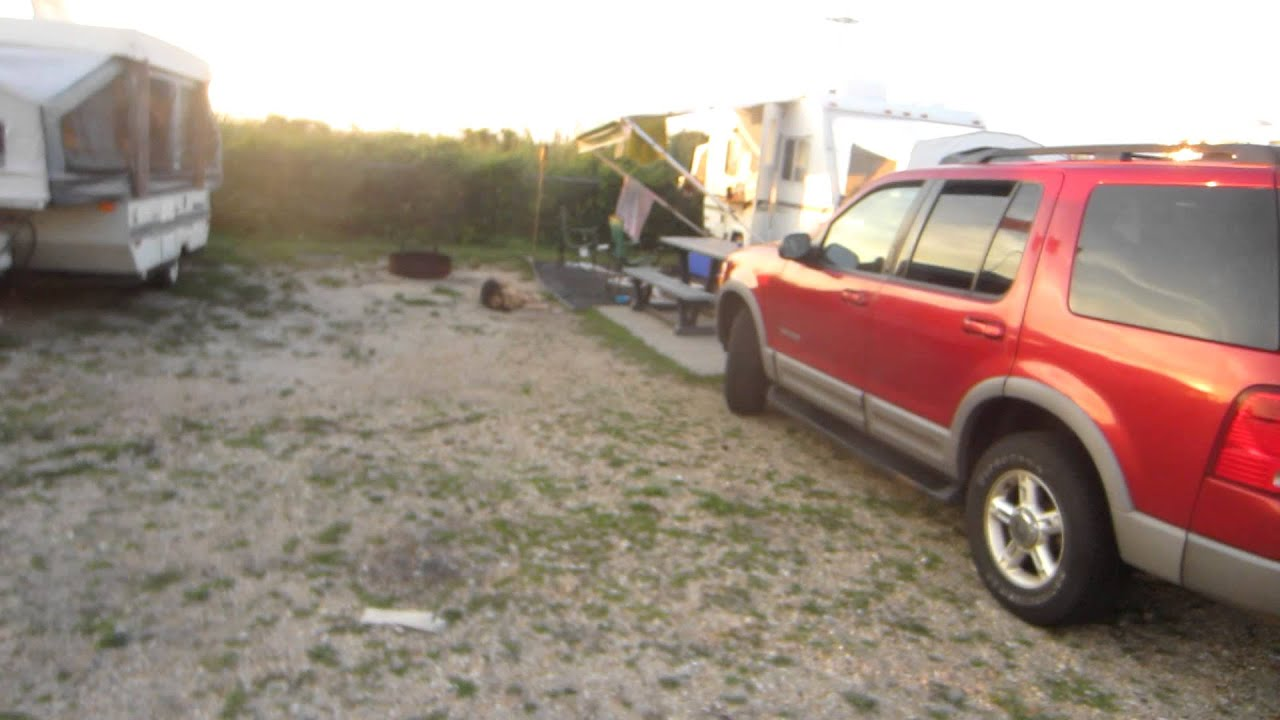 Smith Point Campground Site 101 Youtube