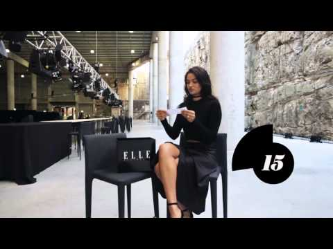 ELLE Mystery Box Challenge: Shanina Shaik