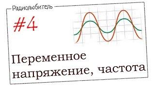 Урок №4. Переменное напряжение. Частота.