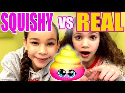 Ultimate Squishy VS Real Food Challenge *Sierra Cries*