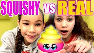 Ultimate Squishy VS Real Food Challenge *Sierra Cries*