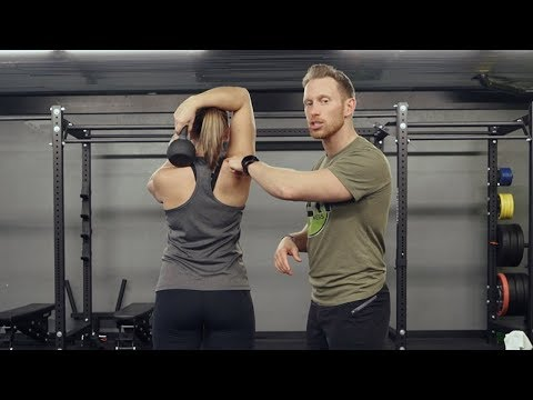 Eliminate Neck Tension Through the Kettlebell Halo Roll Exercise