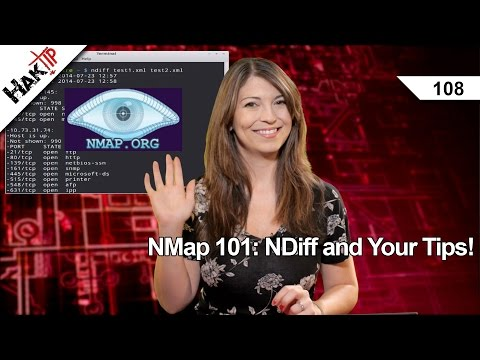 NMap 101: NDiff and Your Tips! HakTip 108