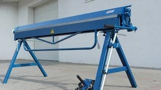 ohýbačka plechu Ohýbací stroje, ohybacka, ohýbačky, profesionální klempířská ohýbačka plechu
