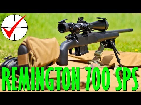 Remington 700 SPS AAC-SD (800 and 1000 yards + movers)
