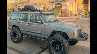 Jeep Cherokee XJ fender trim