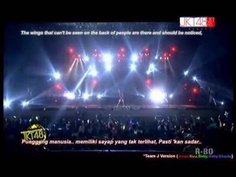 JKT48 - Kagami no Naka no Jeanne D'Arc [English-Indo sub]