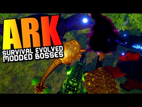 ARK Survival Evolved - ANNUNAKI GENESIS MOD WARDENS TITANS, GODS, CELESTIALS & BOSSES (ARK Gameplay)